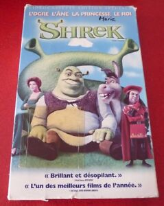 VHS-French-Movie-Shrek-Videocassette-Edition-Speciale