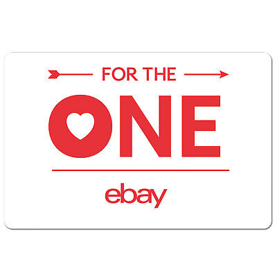 eBay Gift Card For The One Edition $15 to $200 - Email Delivery