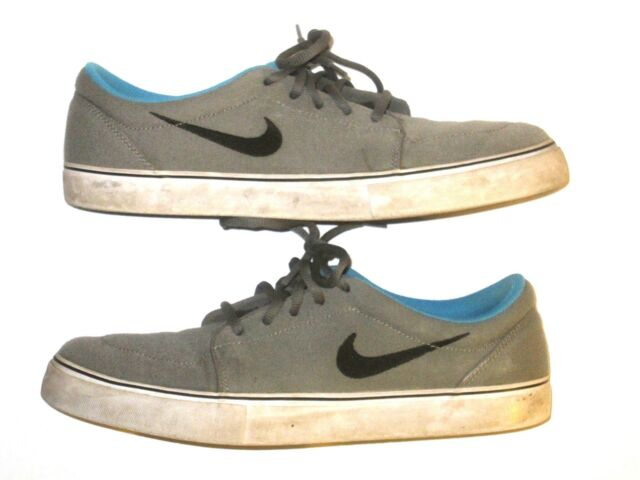 new styles 94254 e2c06 Nike SB Clutch Skate SNEAKERS Mens Shoes Low Tops Gray Blue Black Size 11