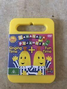 BANANAS-IN-PYJAMAS-SINGING-TIME-FUN-TIME-ABC-DVD-R4-AUS-SELLER