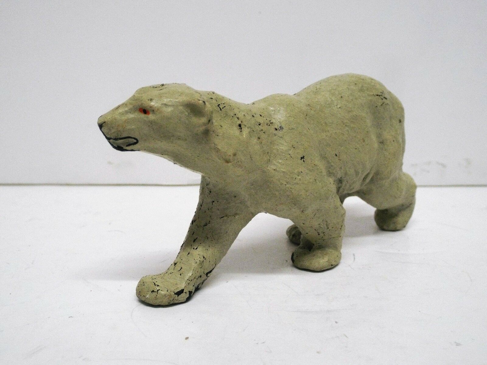 LINEOL ELASTOLIN RARE POLAR BEAR WALKING LOOKING GOOD  (BS2304)