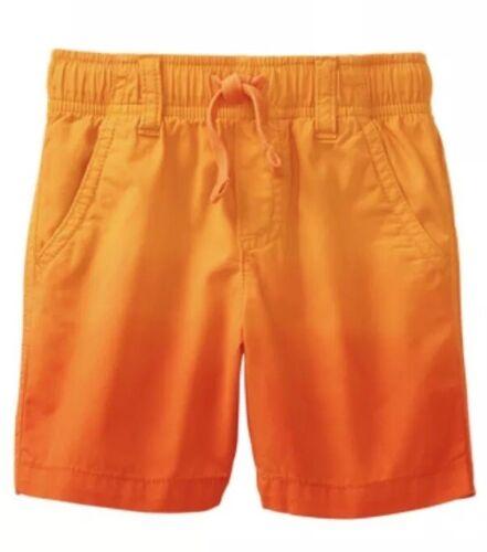 NWT Gymboree Jurassic World Dinosaur Orange Shorts Boys Size 3t