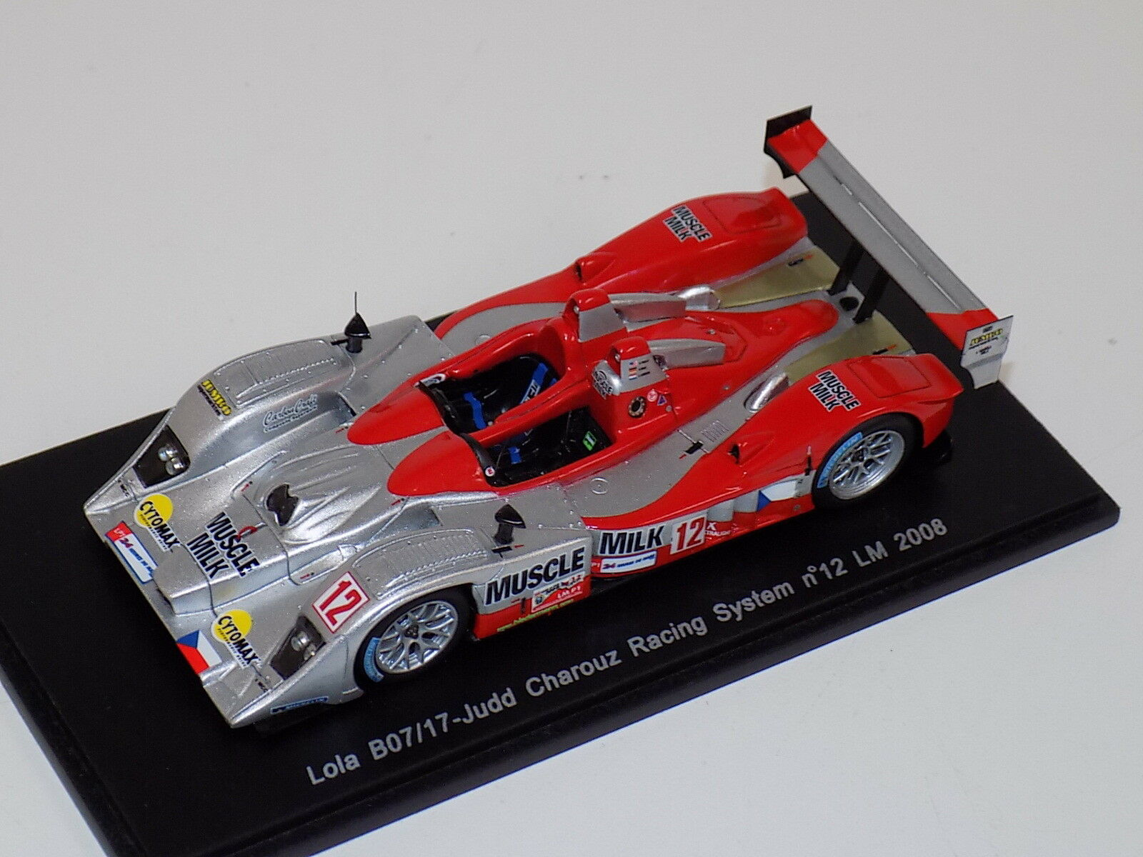 1 43 Spark Lola B07 17 Judd   Coche  12  24 Hours of LeMans  2008  S1429
