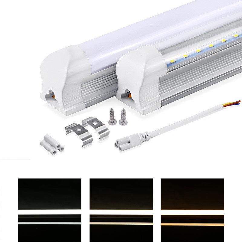 60cm 90cm 120cm 150cm T8 G13 LED Tube Röhre Leuchtstoffröhre Lampe mit Fassung