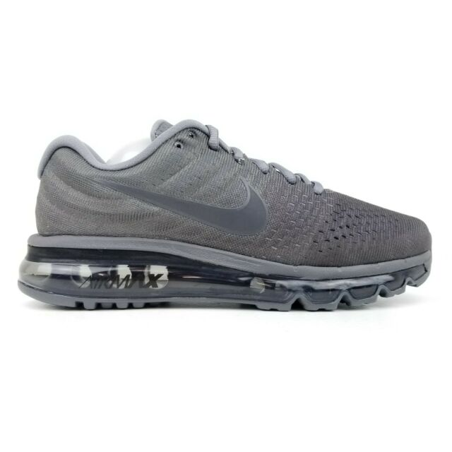 cheaper e3404 d5423 Nike Air Max 2017 Men s Running Shoes Anthracite Dark Grey 849559 008 Sizes  ...