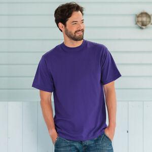 Russell-Super-Classic-J180M-para-hombre-Camiseta-Manga-Corta-Cuello-Redondo-Camiseta-Top-Regular