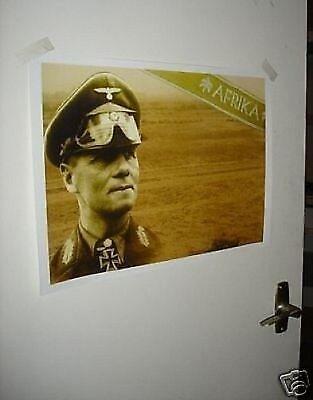 Field Marshal Erwin Rommel World War II 2 New Poster