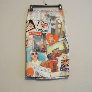 c5f1f8169df blush Women s Graphic Skirt Size Small