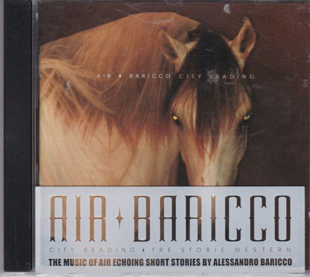 Air + Alessandro Baricco - City Reading - CD album
