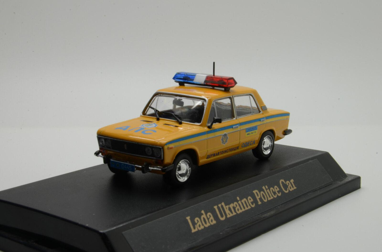 rara    LADA VAZ 2106 Ucrania coche de policía Hecho a Medida 1 43