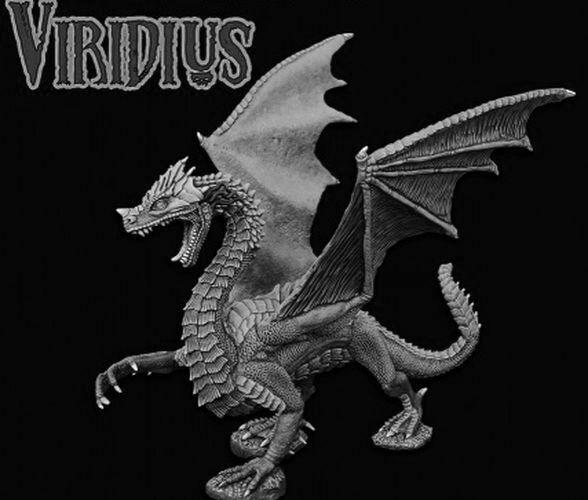 1 x VIRIDIUS - BONES REAPER figurine miniature jdr rpg d&d dragon 77555