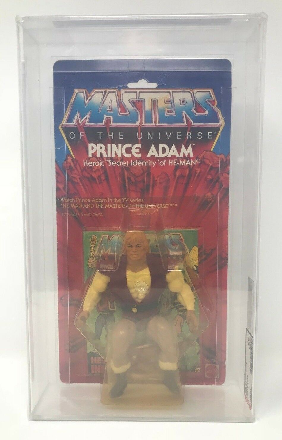 HE-MAN PRINCE ADAM Masters Of The Universe 1984 Mattel FIGURE Series 3 MOTU AFA
