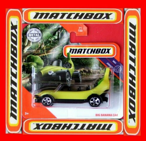 MATCHBOX 2019  BIG BANANA CAR    71//100   NEU/&OVP
