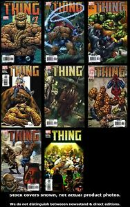 Thing-3rd-Series-1-2-3-4-5-6-7-8-Marvel-2005-Complete-Set-Run-Lot-1-8-VF-NM