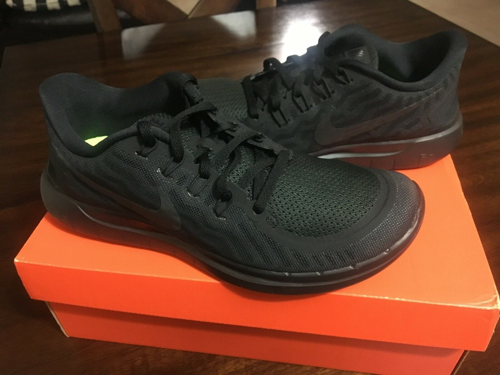New Nike chaussures homme Free 5.0 fonctionnement chaussures Nike noir Out 724382-001 33f429