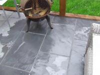 Black Slate Paving Patio Garden Slabs - £24/m2 inc del  80x40 / 60x40 (crate)