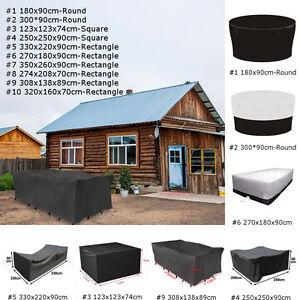 10 types housse de protection bache couverture pour meuble - Bache protection table exterieure ...