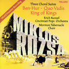 Miklos Rozsa: Three Choral Suites by Erich Kunzel (Conductor) (CD, Apr-2005, Telarc Distribution)