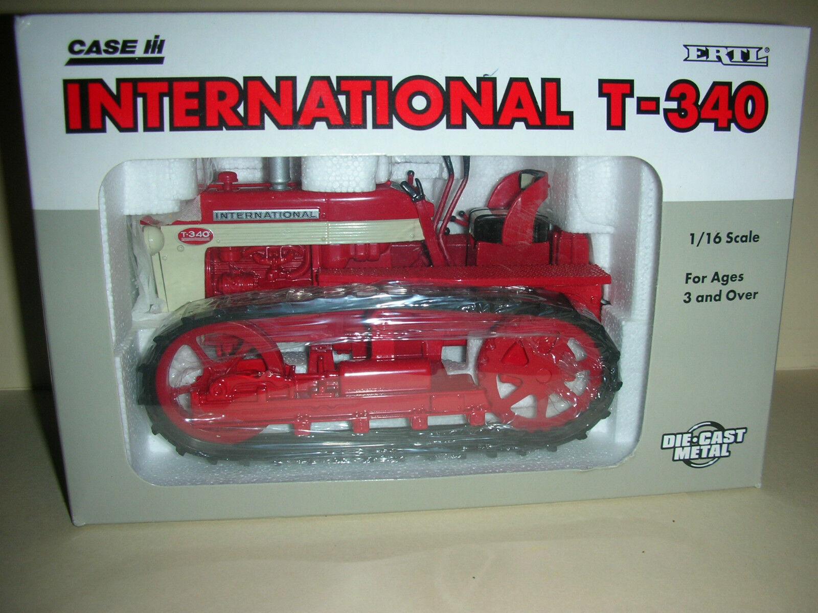 Ertl Usa Funda internacional T-340 Juguete Tractor-Die Cast - 1 16-Escala B 9)