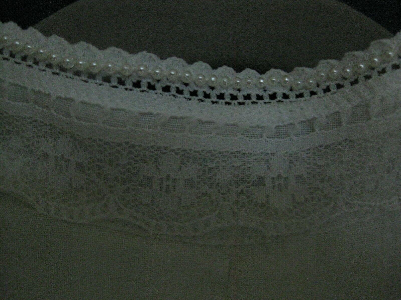 Gunne Sax White Dress Girls Size 12 Pre-Owned - image 8