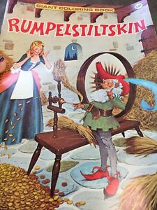 Rumpelstiltskin Giant Coloring Book Published By Playmore Inc Not