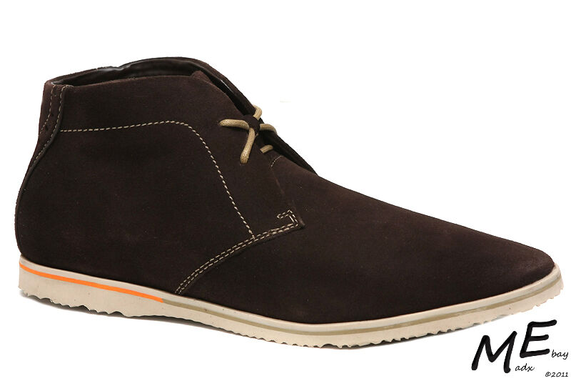 New Rockport Empire West Chukka Suede Men Boots Size 11.5 (MSRP  140) V75277