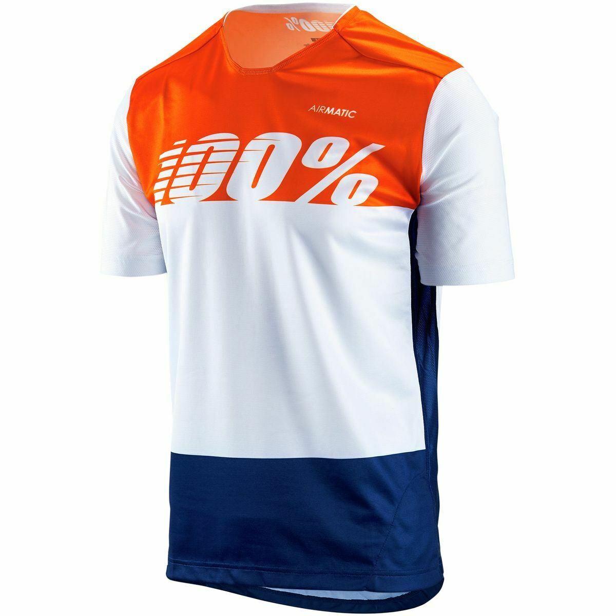 100%  Airmatic Jersey White Flag XLG  new style