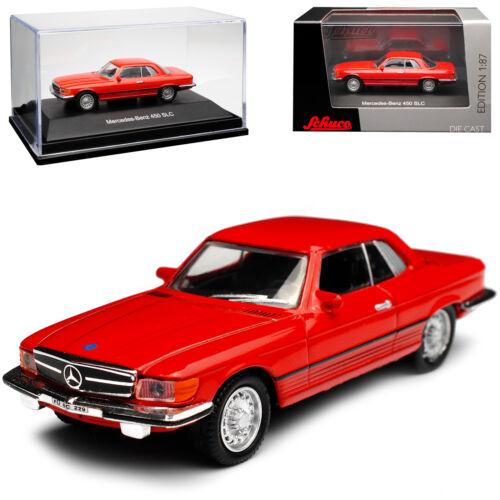 Mercedes-Benz SL-Klasse 450 SLC Coupe Rot R107 1971-1989 H0 1//87 Schuco Modell A