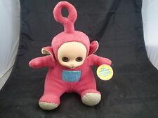 "Teletubbies Bean Toys from Golden Bear Ragdoll Prod 1998 Talking Po 14"""