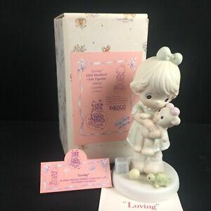 Vintage 1993 Precious Moments Figurine Enesco Loving Caring Sharing PM93