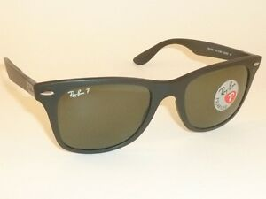 918125ed9d Image is loading New-RAY-BAN-Sunglasses-Wayfarer-Liteforce-Black-RB-