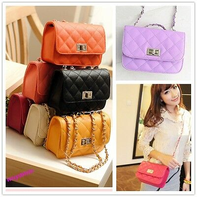 New Summer Women Messenger Bag PU Leather Crossbody Satchel Shoulder Handbag