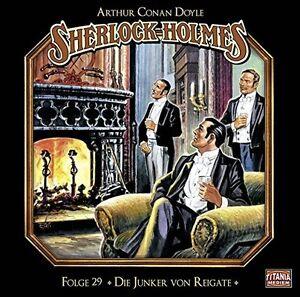 SHERLOCK-HOLMES-FOLGE-29-DIE-JUNKER-VON-REIGATE-CD-NEU