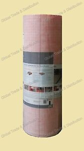 """Schluter Systems Ditra Membrane by Square Foot , 1/8"""" Underlayment Prevent Crack"""