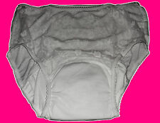 Neu Erwachsenen Schutzhose Inkontinenzhose weiß Gr.XL atmungsaktiv
