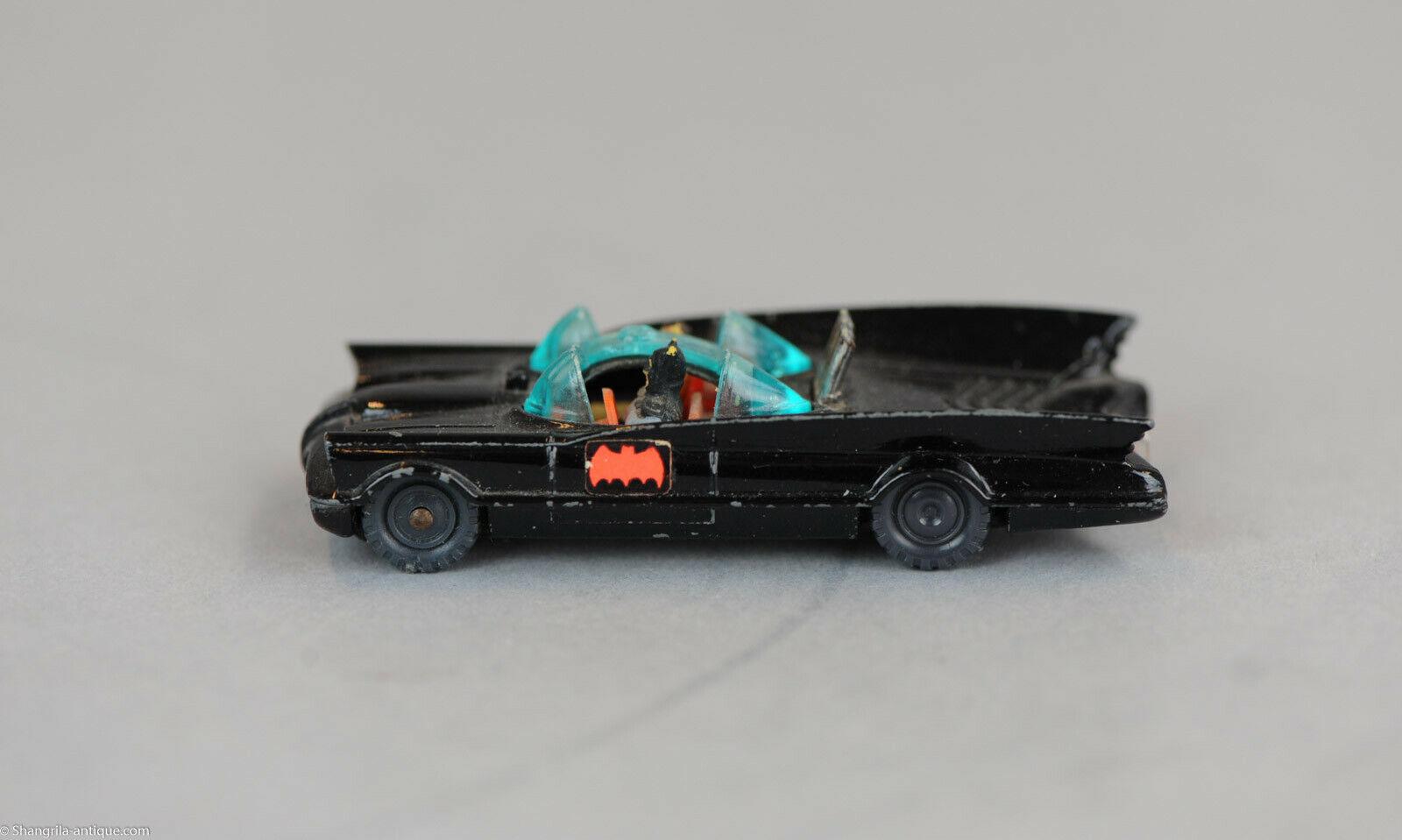 Antique Juguete De Batman Husky Juniors Batman Batmobile Diecast Modelo Coche Mettoy