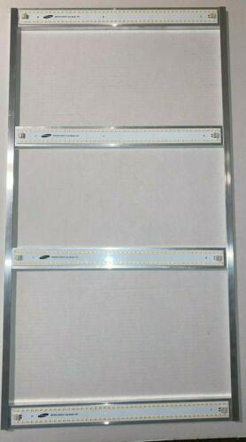 4x Sun Board 96 LED 3500k Samsung lm301b Strip Quantum Grow Light HLG Driver DIY