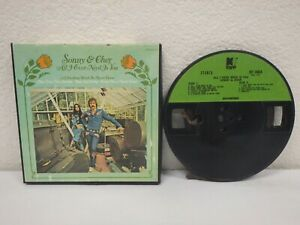 SONNY-amp-CHER-All-I-Ever-Need-3-IPS-4-Track-Reel-To-Tape-1972-Kapp-KST-3660-B
