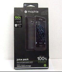 best authentic 8810c d098a Details about Mophie juice pack Battery Case for Samsung Galaxy S6 Edge -  (3,300mAh) - Black