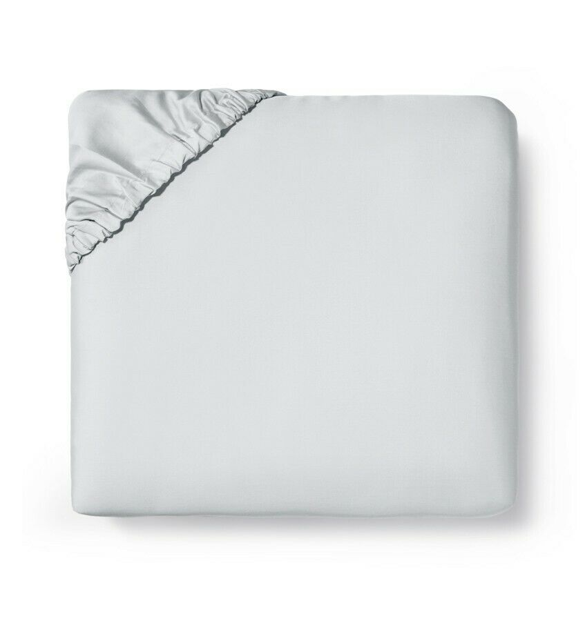 Sferra Fiona Italian long-staple cotton sateen fitted sheet