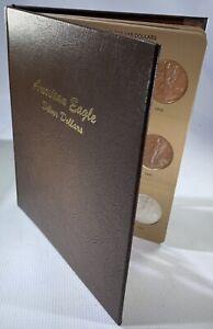 COMPLETE Silver Eagle Set EXCELLENT GEM BU Dansco Album 1986 -2005 WOW!