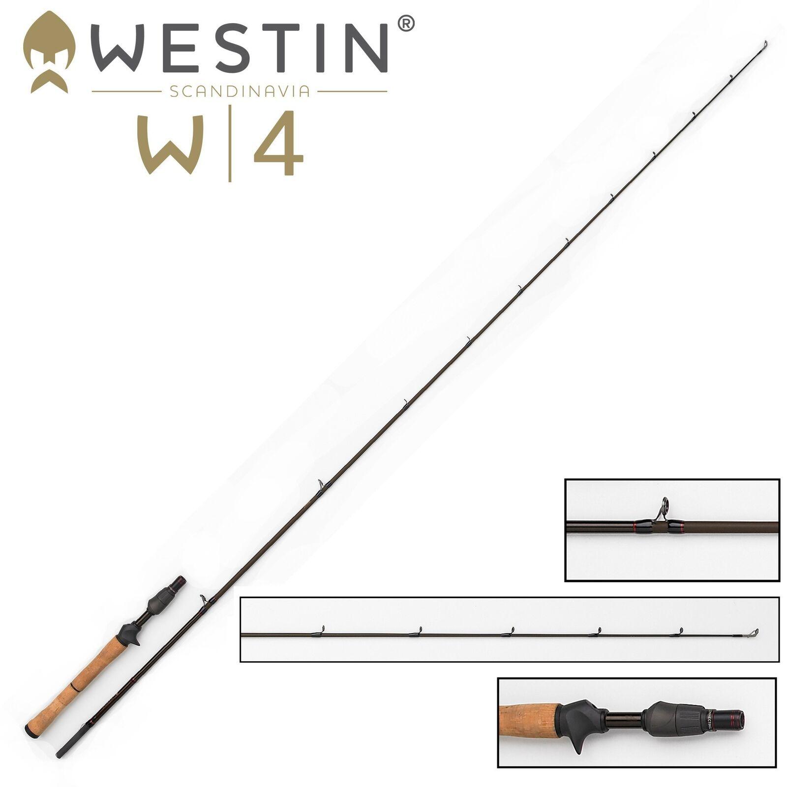 Westin W4 Vertical Jigging-T M Spinnrute 188cm 14-28g - Vertikalrute Zanderrute