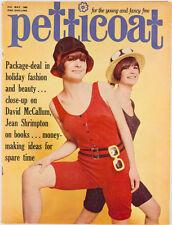 JEAN SHRIMPTON David McCallum PATTI BOYD Sherri Mumby BIBA ~ Pettiocat magazine