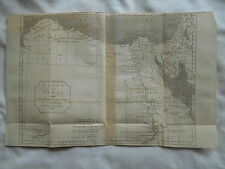 RARE ANTIQUE ANCIENT HISTORY MAP-MADE BY MR.D'ANVILLE-1738-EGYPT WITH LIBYA