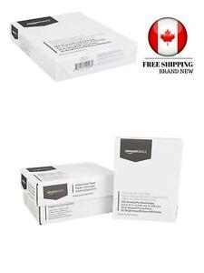 AmazonBasics Multipurpose Copy Printer Paper - White, 8.5 x 11 Inches, 3 Ream Ca