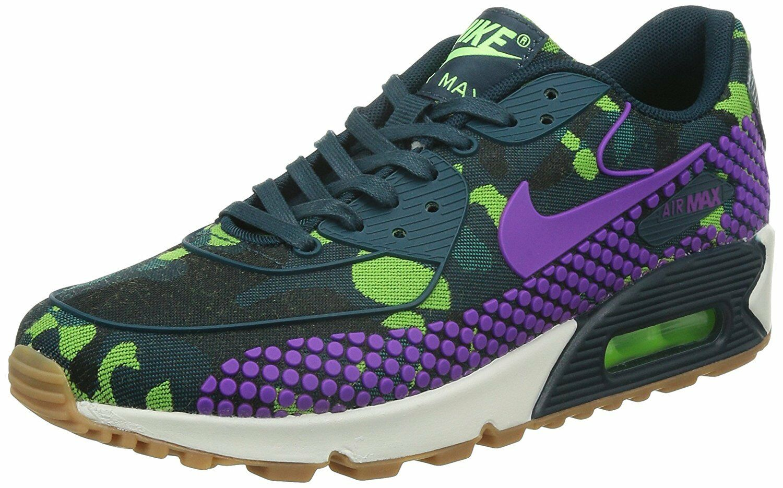 Nike air max 90 donne wmns jcrd ridotta (807298-300) till / vivida viola / till / verde vivido turchese / viola / verde