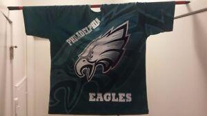 super popular 0e819 bf7a8 Details about Brand New Custom Philadelphia Eagles 3D Sublimation All-Over  Print T-Shirt