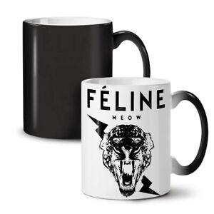 Tiger Face Cool Animal NEW Colour Changing Tea Coffee Mug 11 oz   Wellcoda