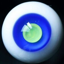 [wamami] 12mm Blue&Yellow Eyes Glass Eyes Outfit For BJD AOD DOD DZ Dollfie