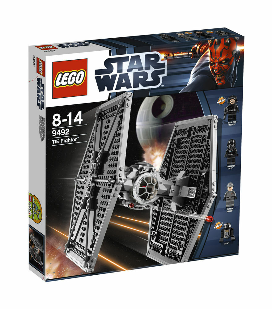 LEGO Star Wars TIE Fighter 9492 Factory Sealed Brand Nuovo